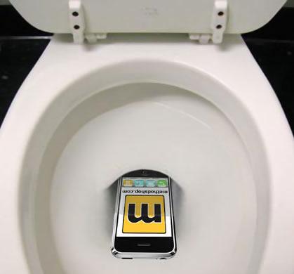 ipod toilet