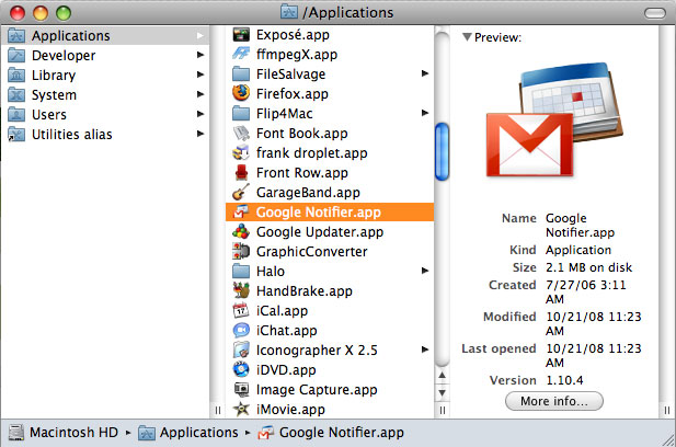 how to download gmail on mac