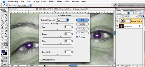 Wie die schwarzen Kreise unter den Augen zu beschmieren