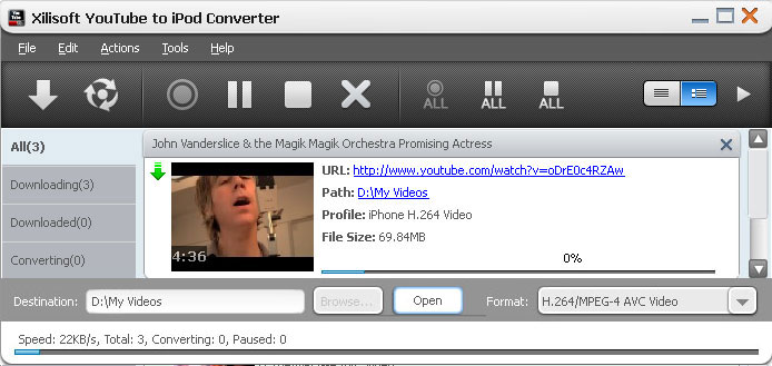 How to Convert YouTube Videos for Your iPod, Apple TV, iPad and