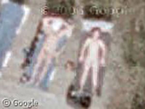 people naked on google streetview