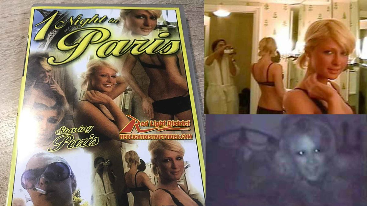 1 Night In Paris - Paris Hilton Sex Tape DVD