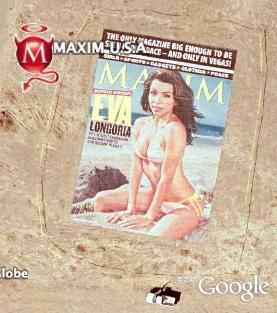 Eva Longoria - Maxim Cover In Desert