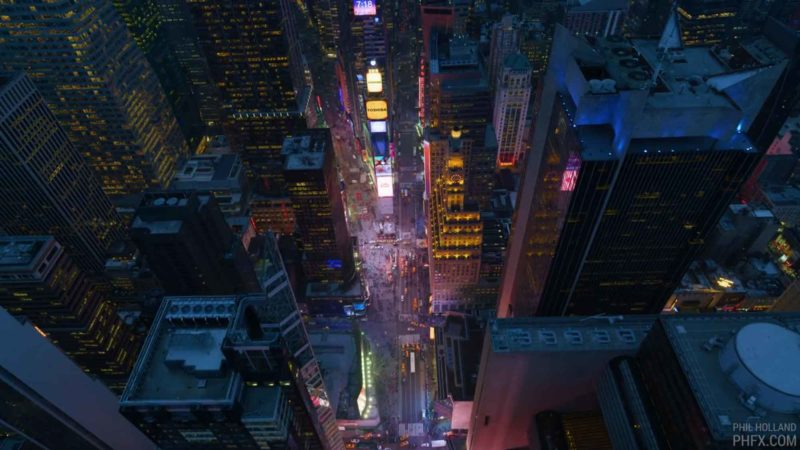 Incredible Flyover Of New York City Filmed in 12k