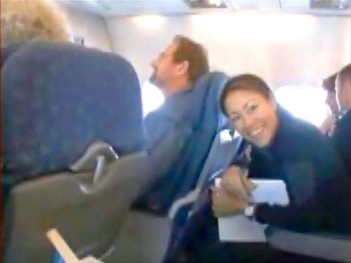 Flight to Christchurch, New Zealand