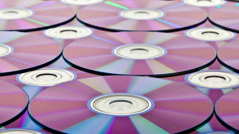 Blu-ray Discs DVD Background