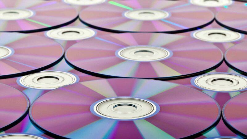 Blu-ray Discs DVD Background