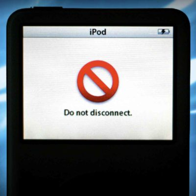 iPod DO NOT DISCONNECT Message Won't Go Away - FIXED!