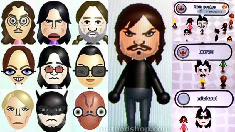 How To Make Celebrity Mii Characters For The Nintendo Wii