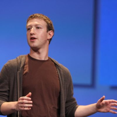 Mark Zuckerberg at F8