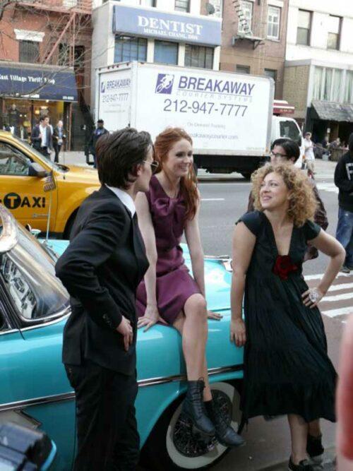 Doctor Who Season 6: Matt Smith, Karen Gillan and Alex Kingston