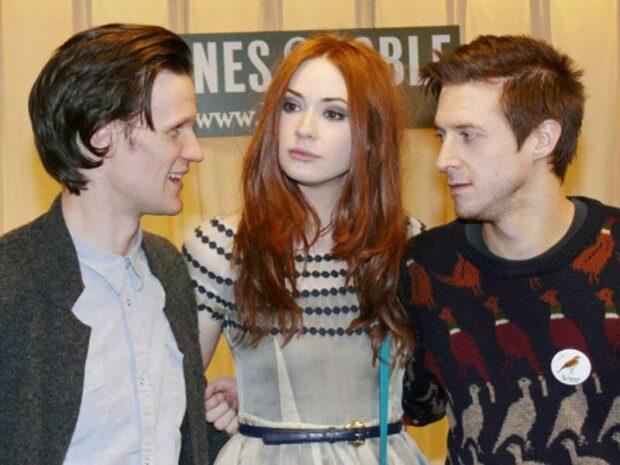 Doctor Who DVD Signing: Matt Smith, Karen Gillan and Arthur Darvill