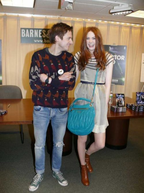 Doctor Who DVD Signing: Karen Gillan (Amy Pond) & Arthur Darvill (Rory Williams)
