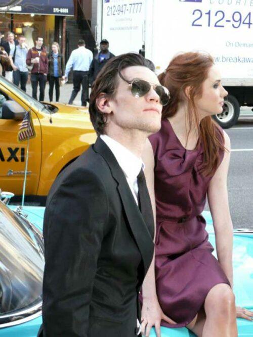 Matt Smith Doctor Who Season 6 Premiere In New York City
