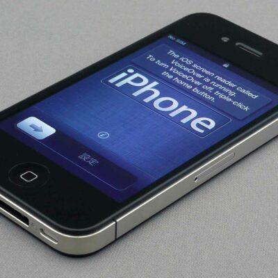 iPhone 4s Setup Screen