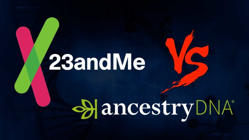 23 and me vs ancestry