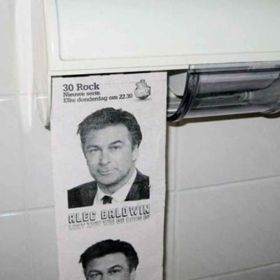 Jack Donaghy 30 Rock Toilet Paper