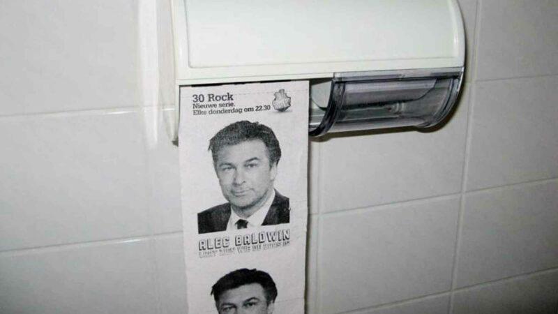 Jack Donaghy 30 Rock Toilet Paper