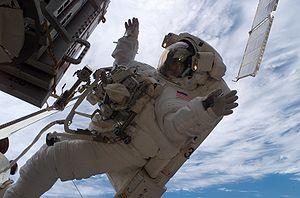 ISS014-E-09992 --- Astronaut Sunita L. William...