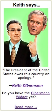 Keith Olbermann Blog Ad