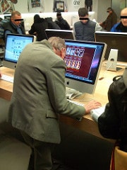 Grandpa Surfing For Asian Escorts in the Apple Store [pic]