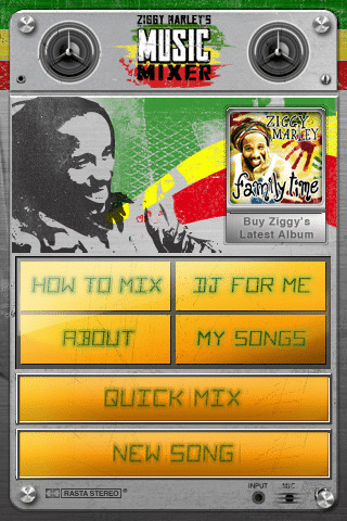 Ziggy Marley's Music Mixer iPhone App 3
