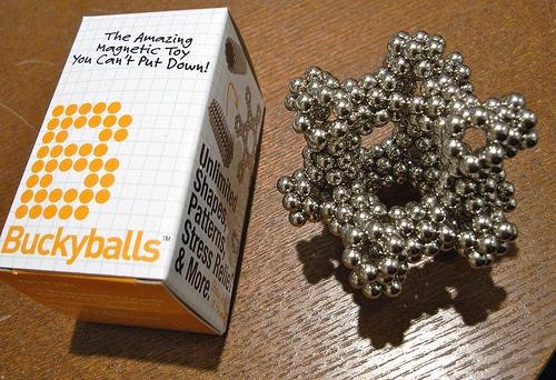 Buckyballs - Diamond Lattice