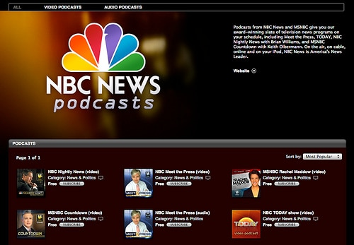 NBC News Starts Podcasting