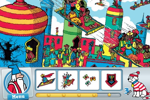 Where's Waldo? He's hiding in the iTunes App Store.