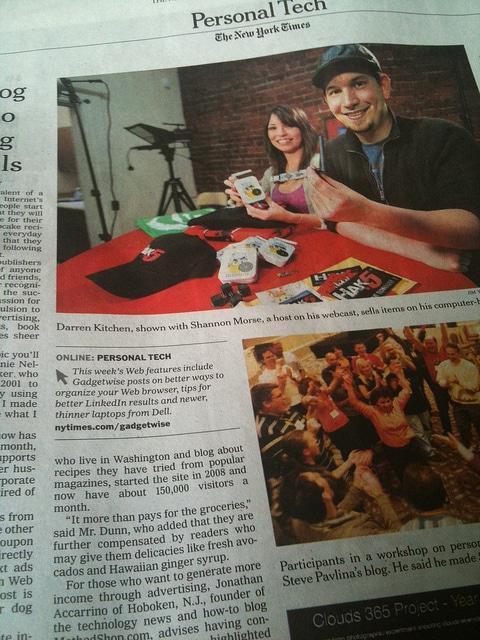 MethodShop in NY Times