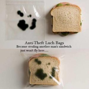 Anti-Theft Lunch Bags [pic]