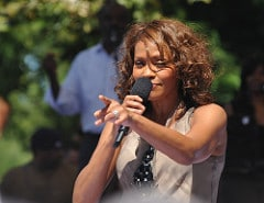 Whitney Houston Quotes - 2009 Concert in Central Park