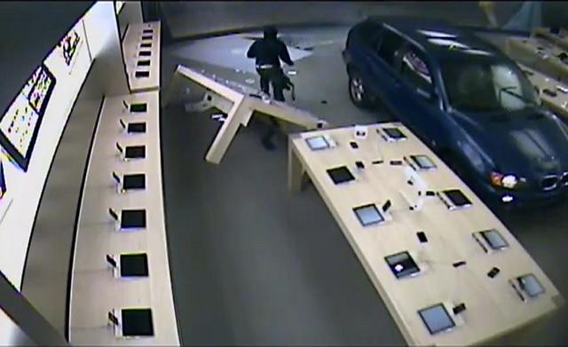 VIDEO: Apple Store Burglary