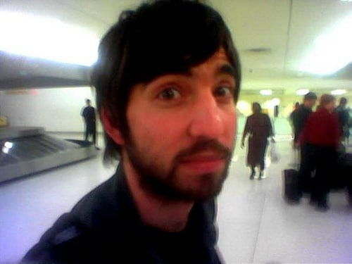 Jimmy LaValle at an Iceland airport