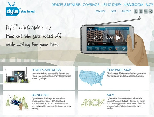 Dyle LIVE Mobile TV