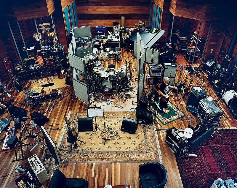 U2's Recording Studio Setup