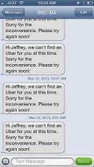 Uberx #fail
