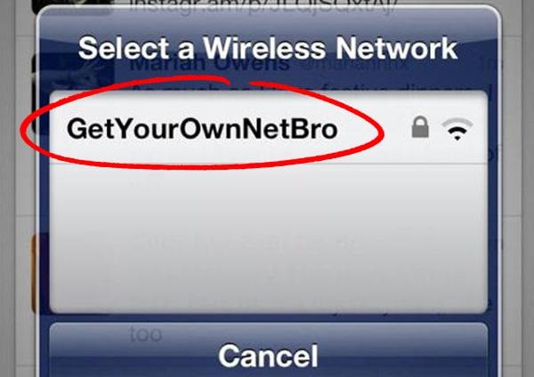 Stealing Broadband
