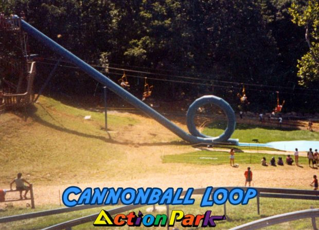 Cannonball Loop: The Infamous Action Park Loop Slide