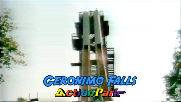 The Geronimo Falls Waterslide At Action Park