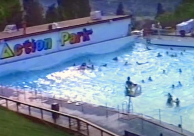The Action Park Tidal Wave Pool