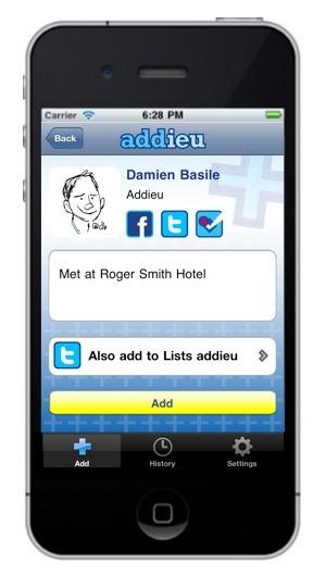 Addieu App