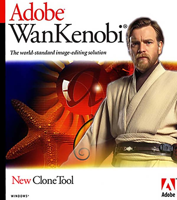 Adobe Wankenobi - Funny Star Wars Pictures