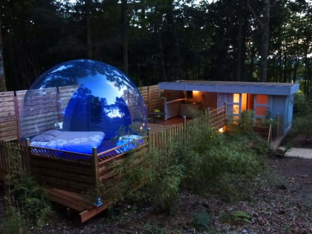 The Bubble Cabin: A Night That Only The Stars Can Bear Witness To