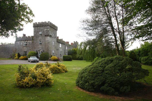 Historical Fanningstown Castle Adare In Ireland