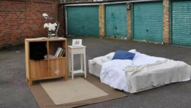 Parking Lot Bed On Airbnb