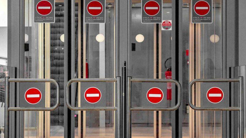 Airport Security Doors