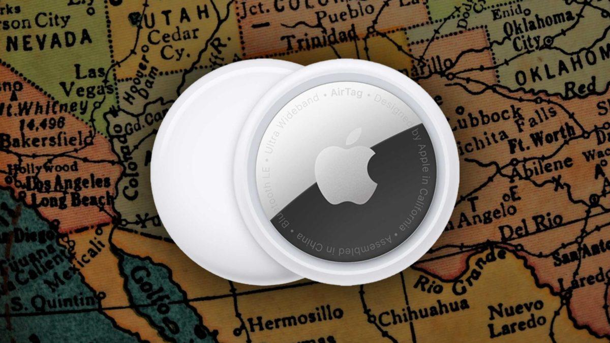 Apple Airtag - Usa Map