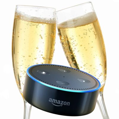 Ask Alexa New Year's Eve & New Year's Day