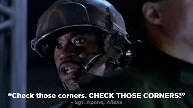 Aliens - &Quot;Check Those Corners. Check Those Corners!&Quot;